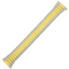 Watch Band Expansion Metal Stretch Two-Tone TSMET178 16mm-20mm - Main