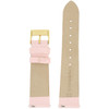 Pink Satin Ladies Watch Band | LEA411 | Watch Material | Replacement Straps | Interior