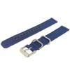 Seiko Watch Strap Nylon Blue | Seiko 4K12jZ  | Side