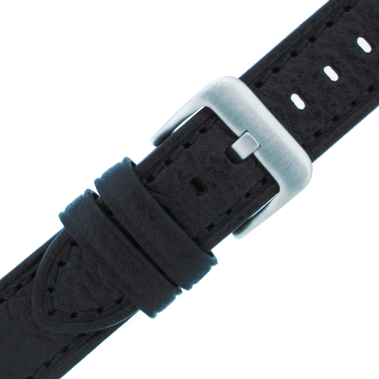 Black Watch Band - Buckle View