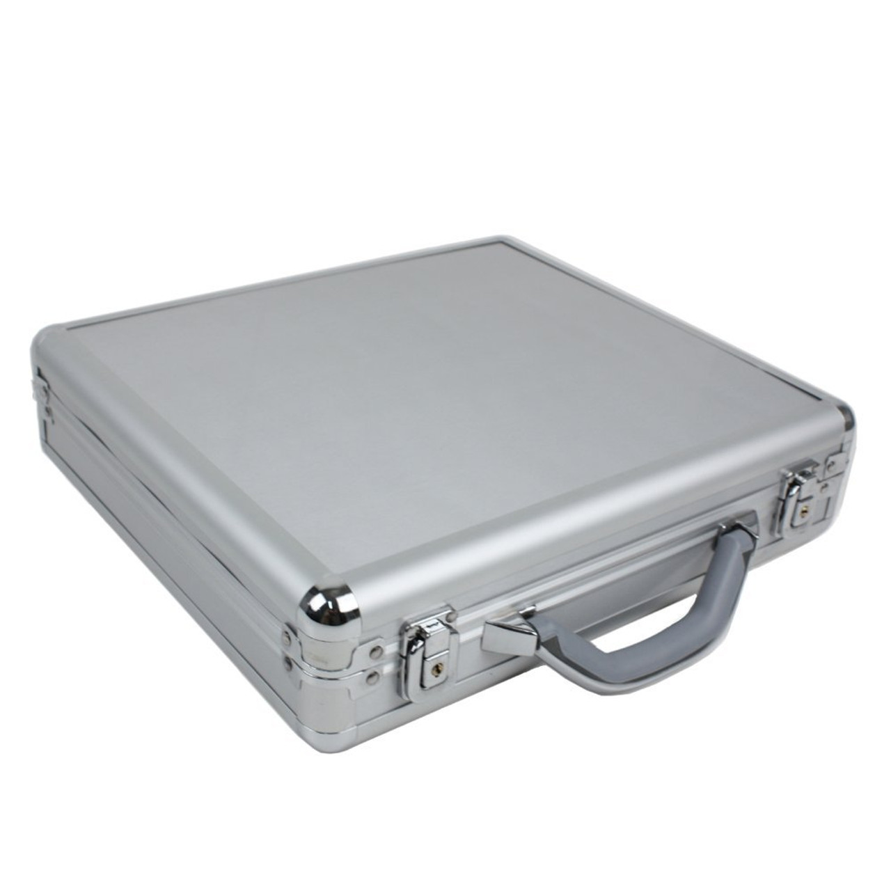 Watch Case for 18 Watches Collectors BriefCase Aluminum with Handle - Main