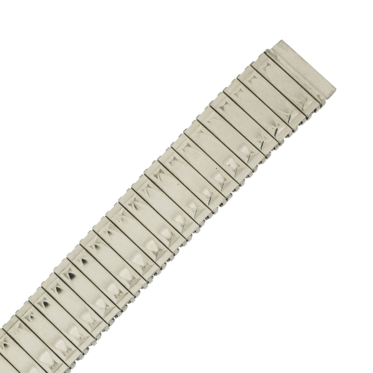 Watch Band Expansion Metal Stretch Silver Color 17mm-20mm - Main
