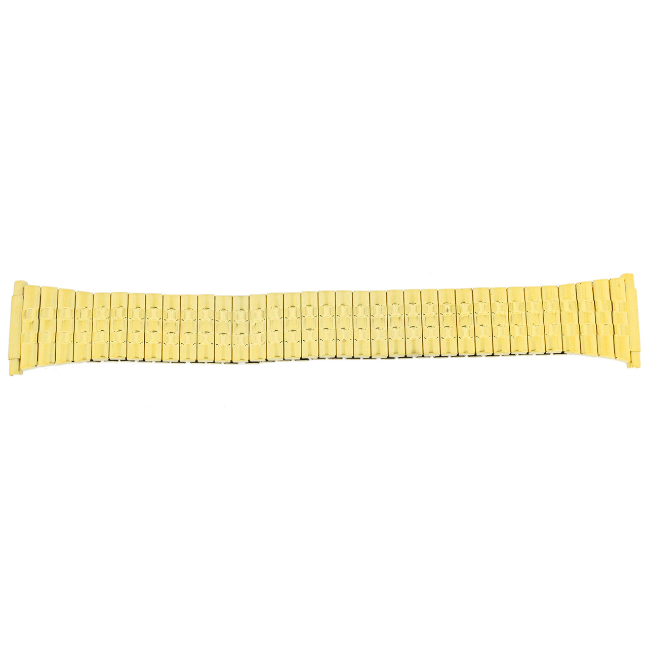 Watch Band Expansion Metal Stretch Gold Plated TSMET183 16mm-20mm - Main