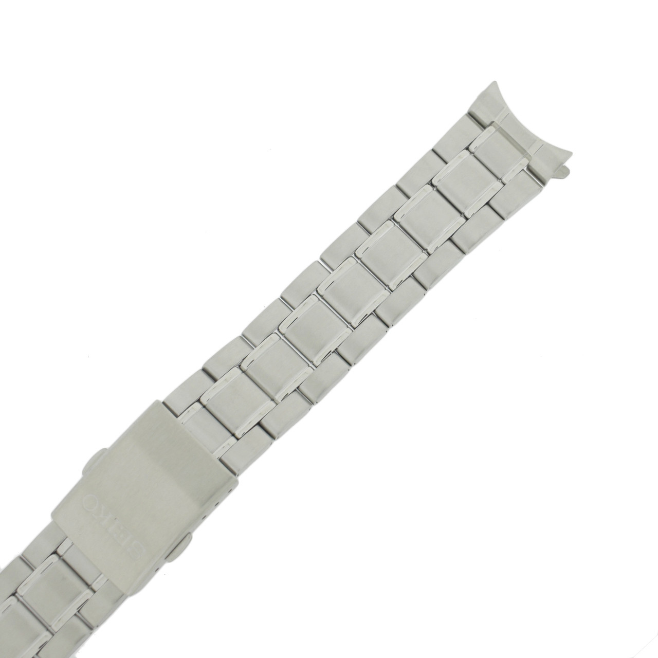 Seiko Stainless Steel Watch Band 20mm and Genuine Seiko Spring Bars