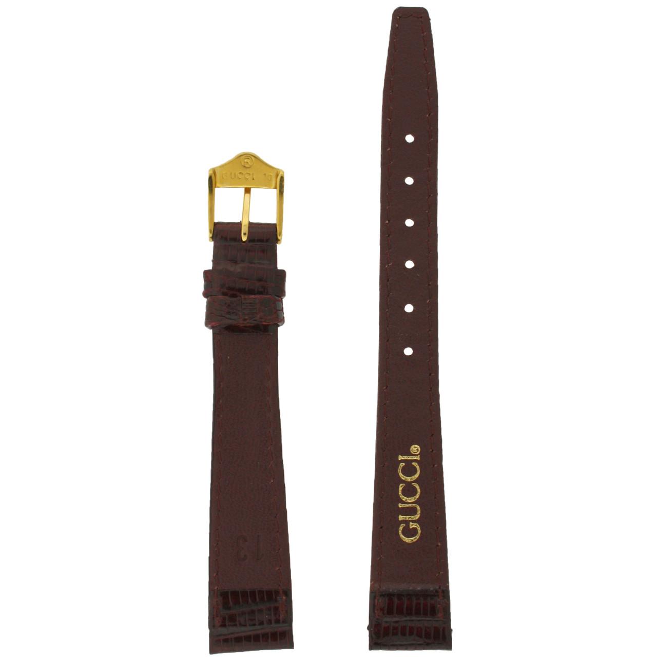Gucci 3000L Lizard watchband