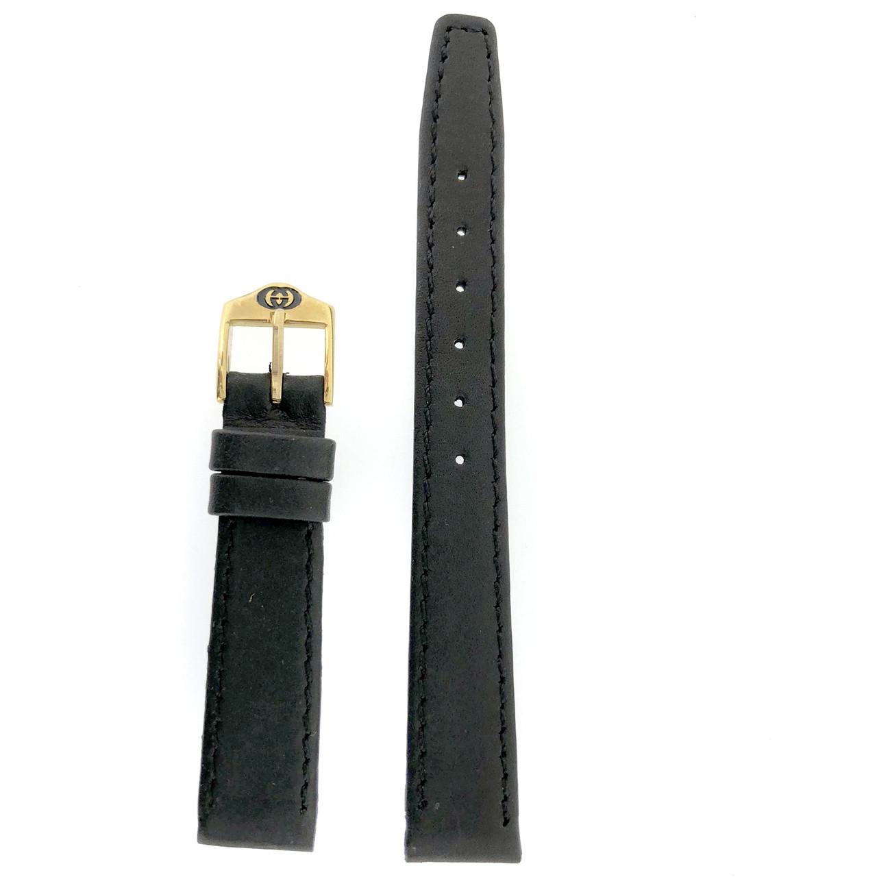 Gucci 6000L watch strap black