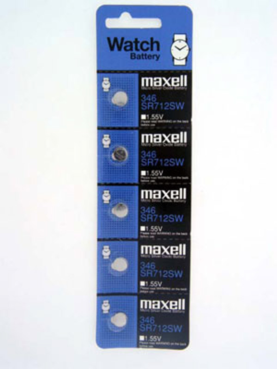 Maxell 346 Watch Battery - Main