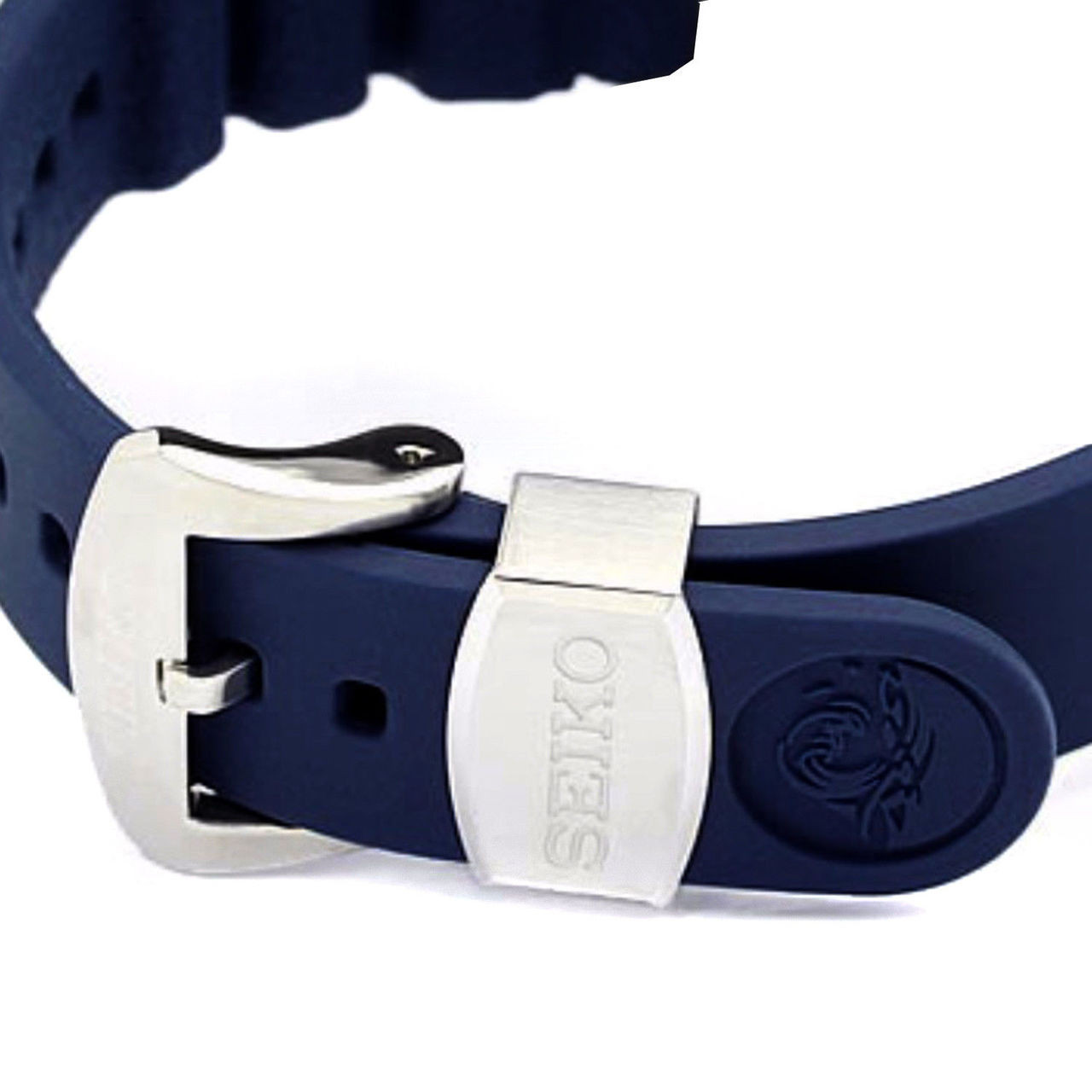 Seiko SRPA83 Blue Rubber Watch Band Prospex Padi 22mm