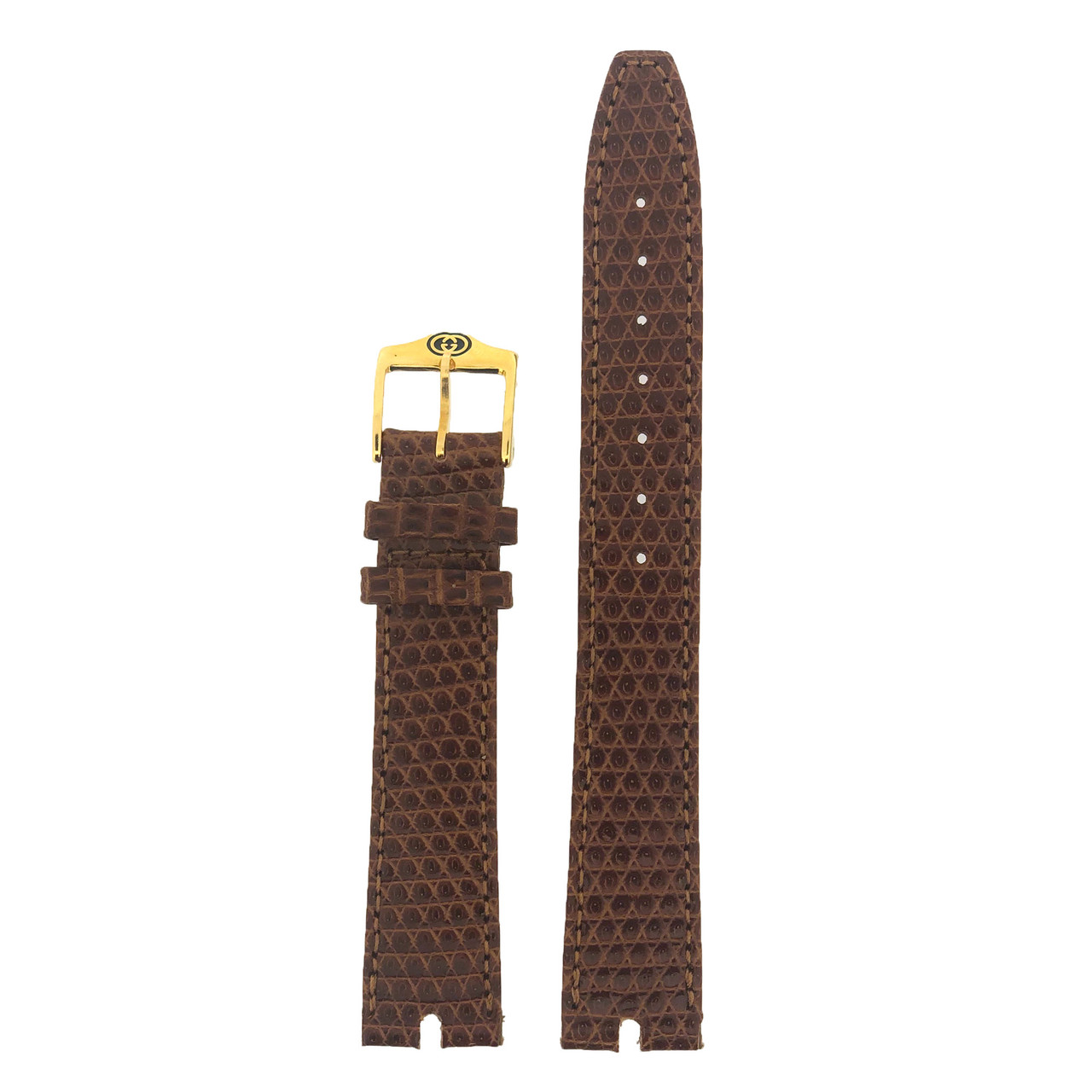 Gucci Watch Band 16mm Light Brown model 2000M - Main
