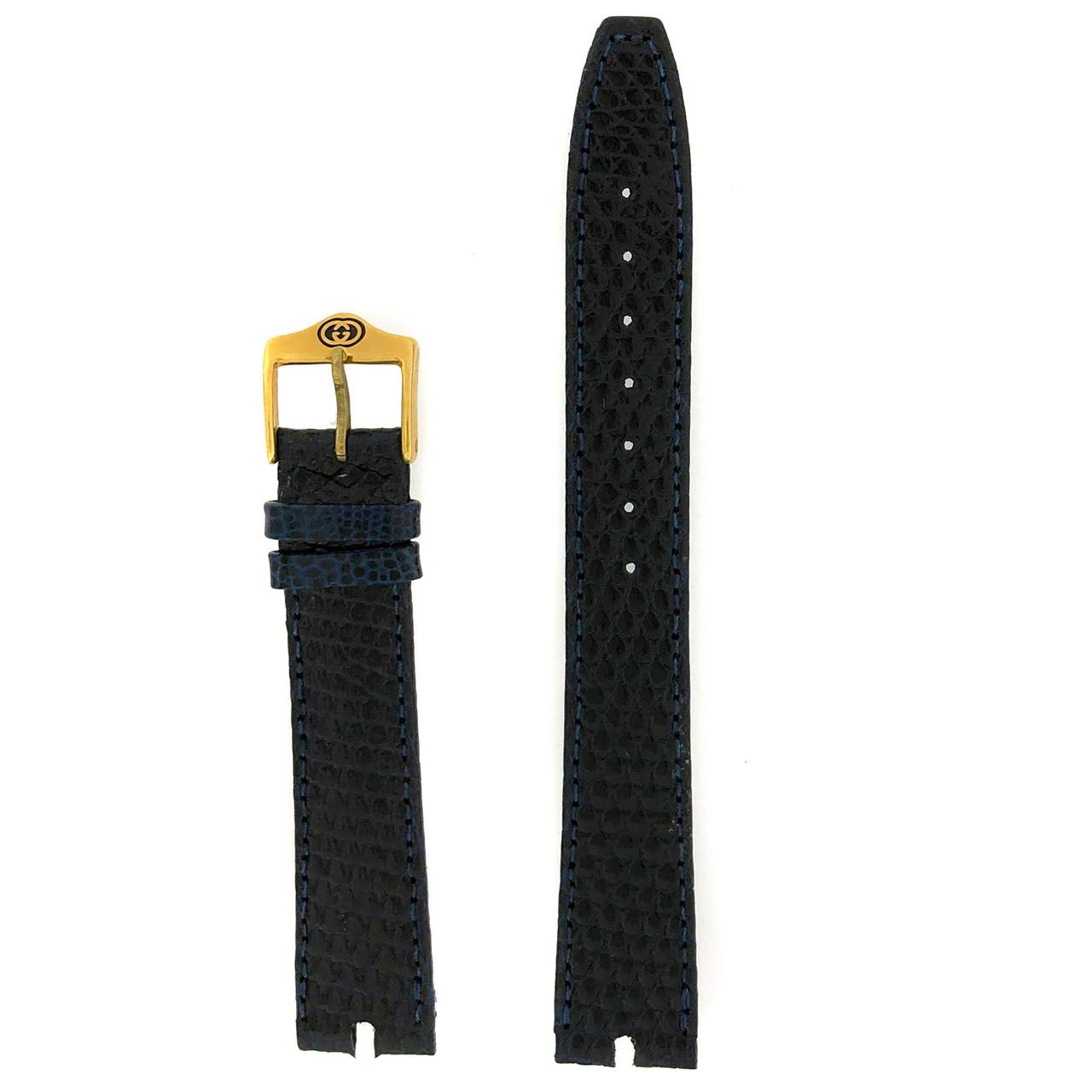 Gucci 2000M Navy  watchband