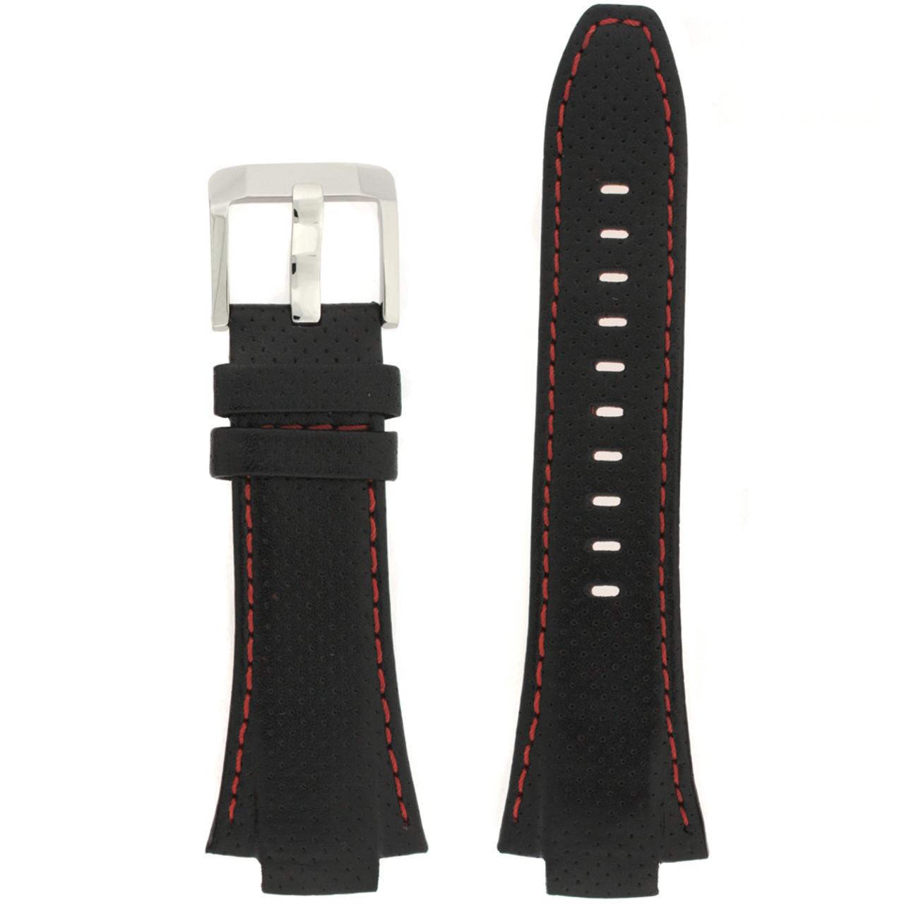 Seiko sportura leather watch bandSNA451 SNA481