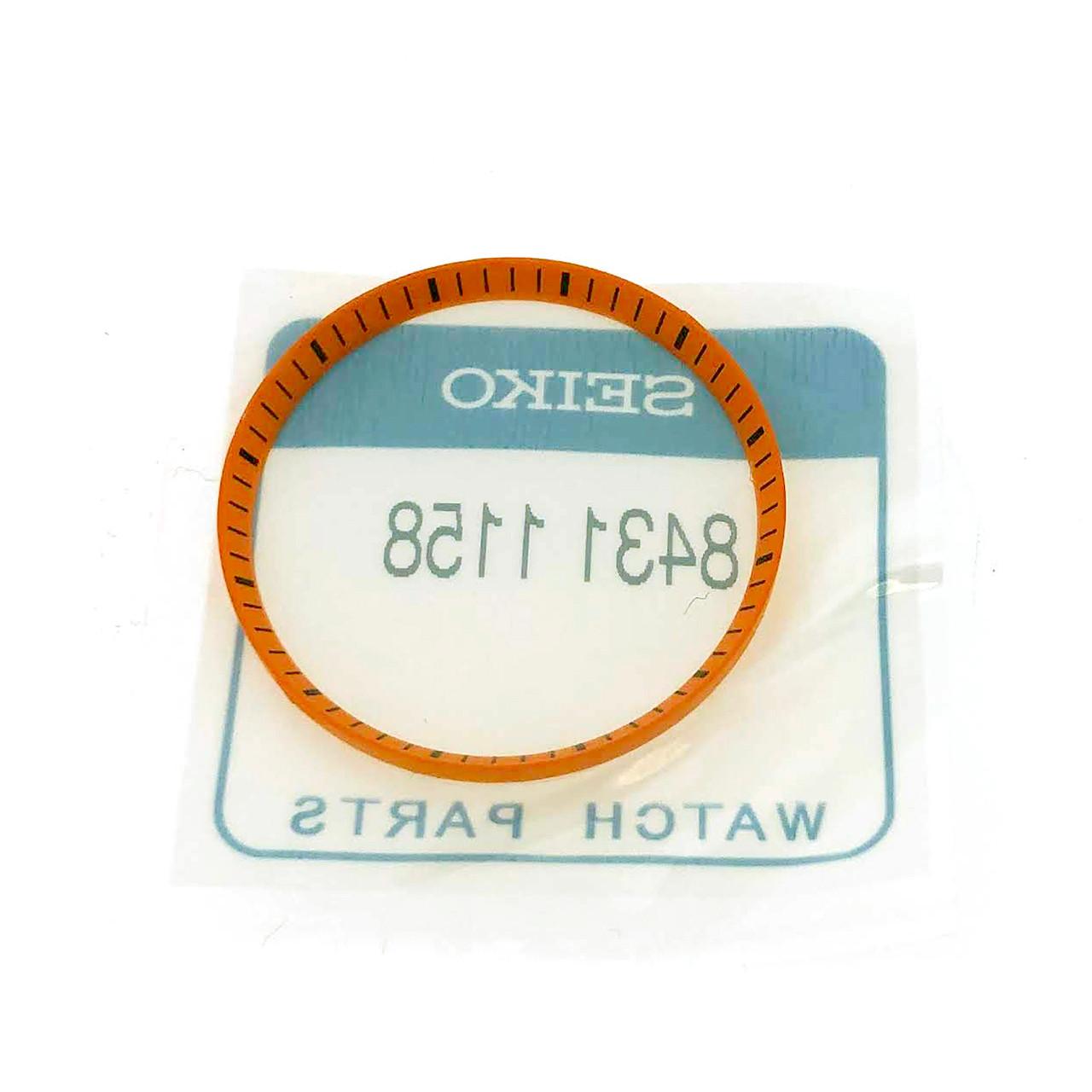 SEIKO Dial Chapter Ring SKX007 SKX009 7S26-020 Orange