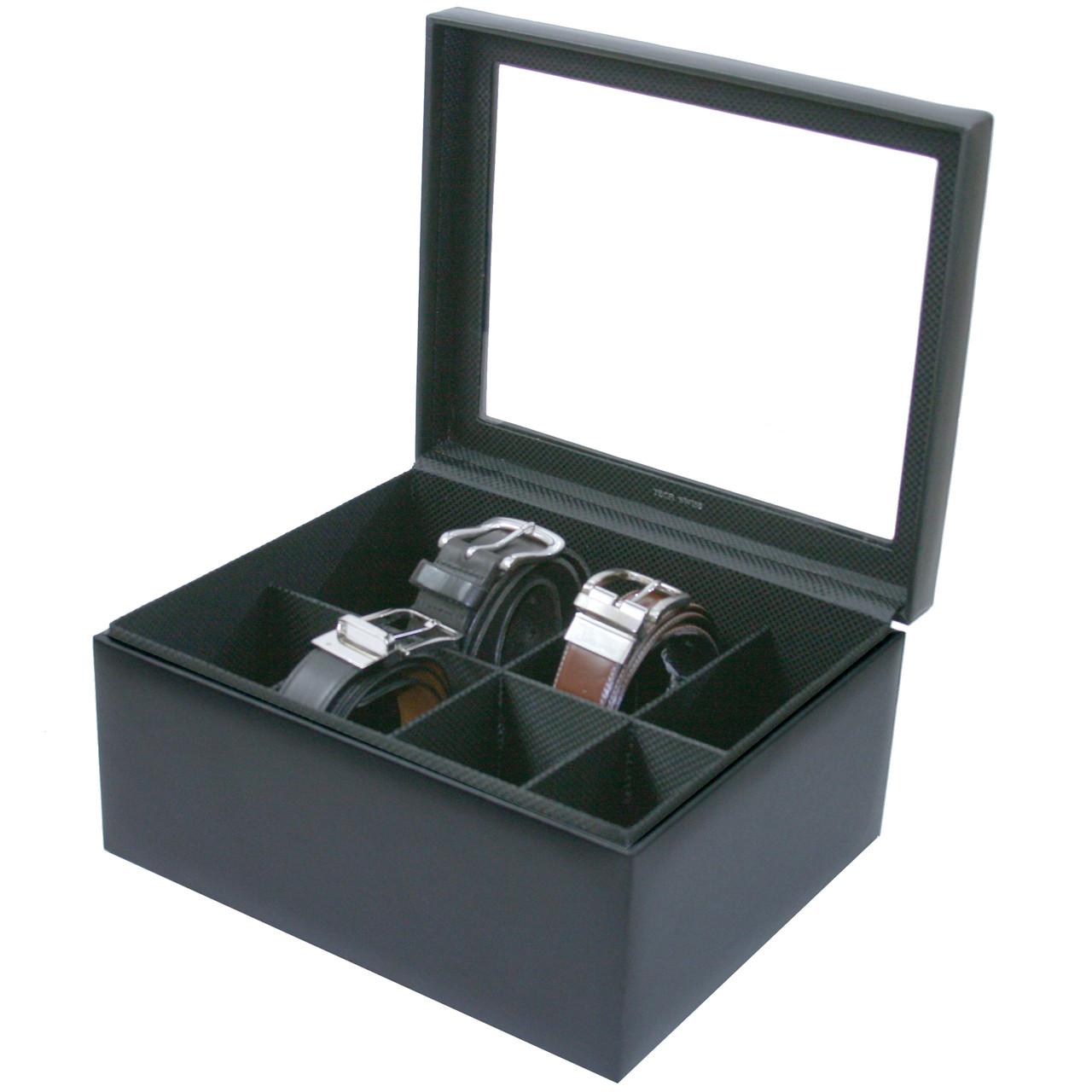Belt Box in Leather | Tech Swiss | Main