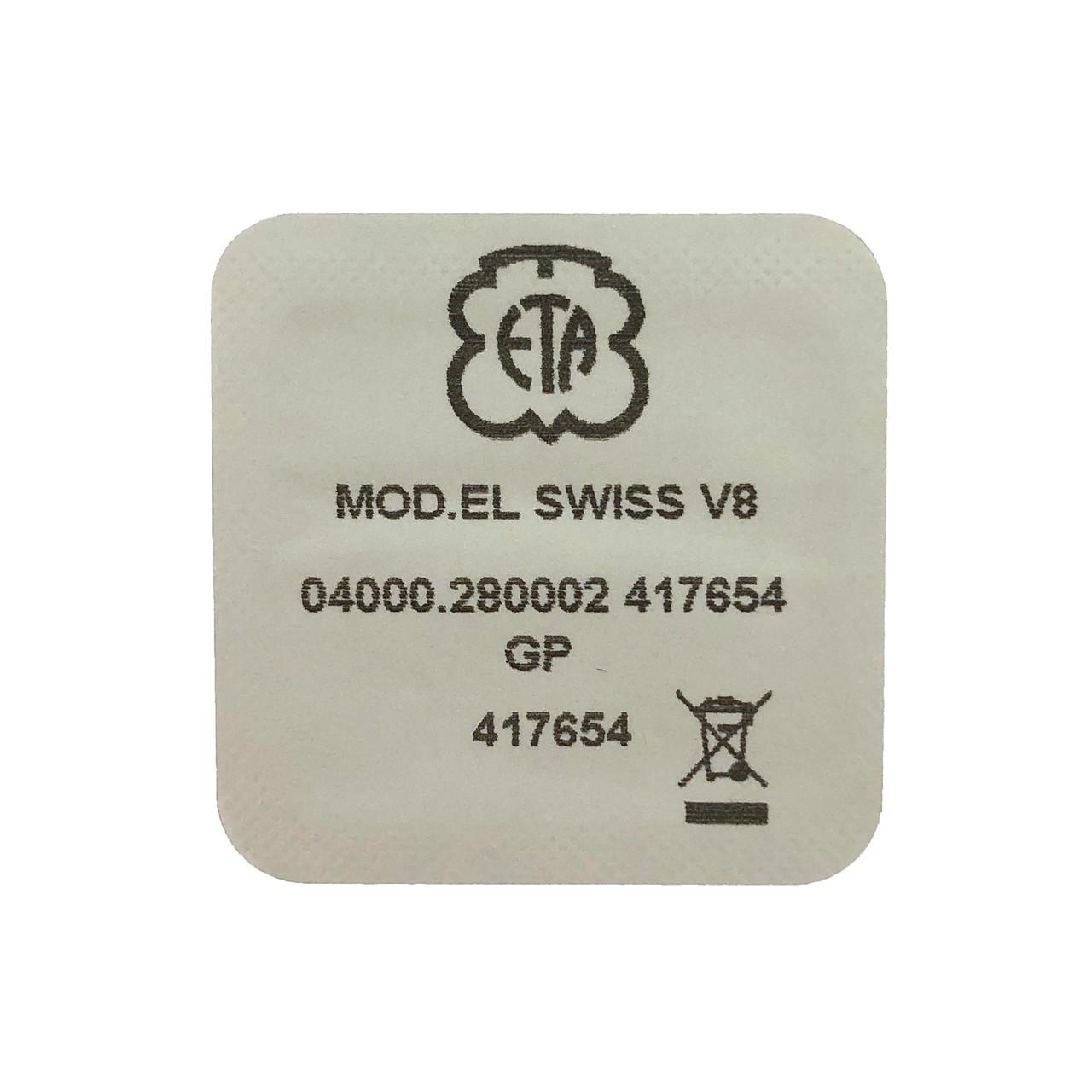 ETA 280.002 Circuit Board - Back