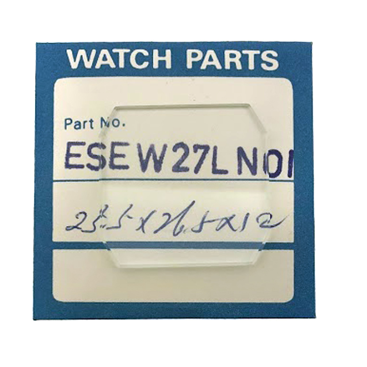 Crystal for Seiko  H601-538A ESEW27LN01