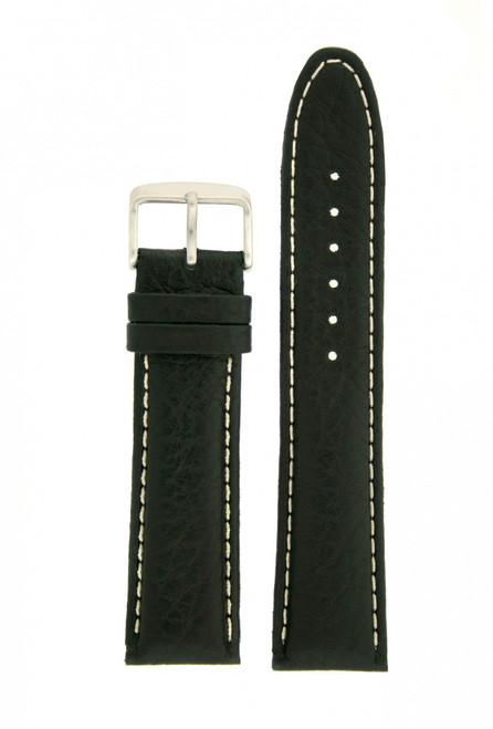 Buffalo leather watch band