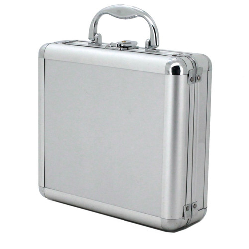 8 Watch Storage Box Aluminum - Top