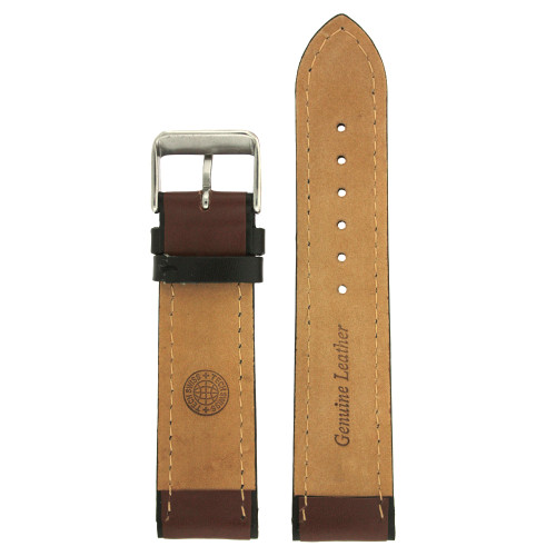 Brown Sporty Watch Band - Interior view - Main