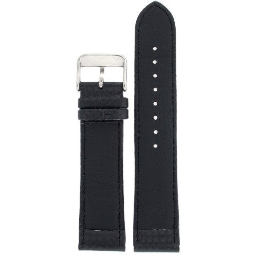 Watch Band Carbon Fiber Black Water Resistant Padded - Main
