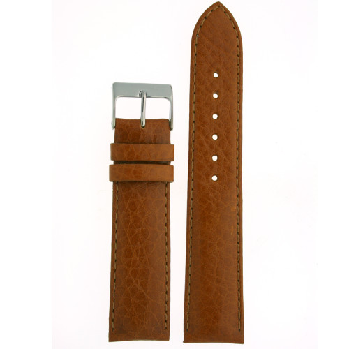 Watch Band Calfskin Leather Tan Comfort padded