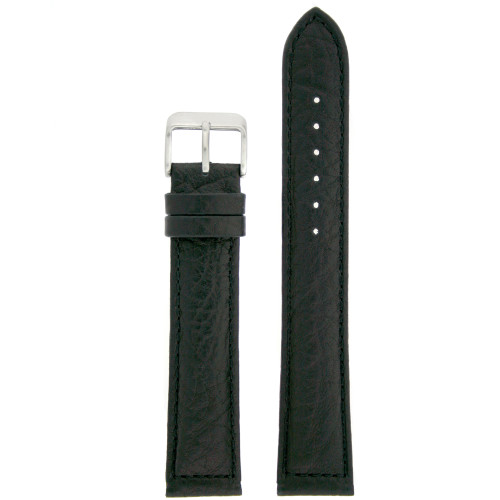 Extra Long Watch Band in Black - front view