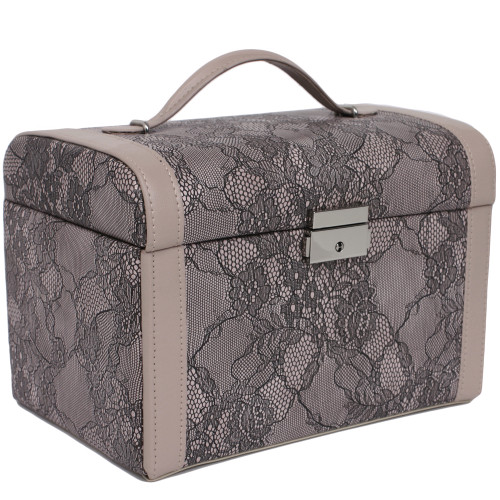 Jewelry Case Leather lace