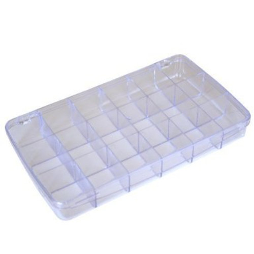 Paylak Multi-Functional Storage Box with 18 Divided Slots Compartments Plastic Container - Main