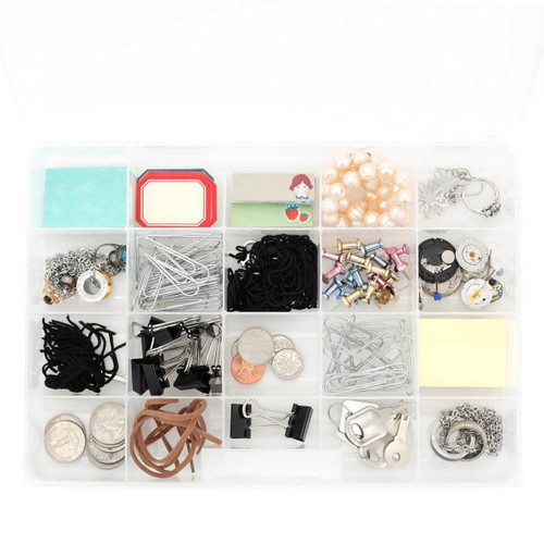 Plastic Organizer Tray for Small Watch Parts & Hobby Tools | Watch Material CTNB102 | Impact Resistant Craft Organizer | Main