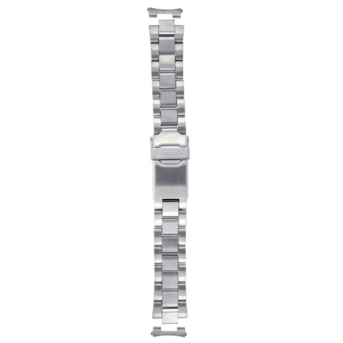Seiko Original Stainless Steel Watch Band 18mm and Genuine Seiko Spring Bars - Main