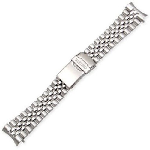 Seiko Jubilee-Style Stainless Steel Watch Band 22mm 44G1ZZ