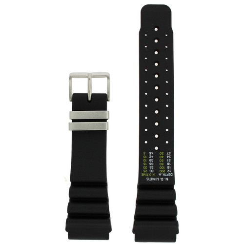 Citizen Diver's Watch Band Aqualand Rubber  59-L7322
