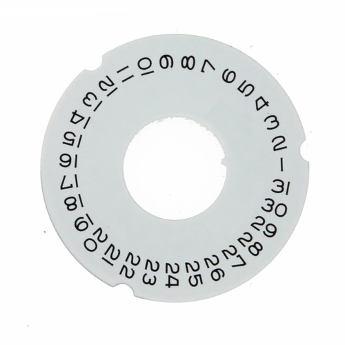 Date Dial Disc to Generic Rolex  3055 White Color 2557-3055W - Main
