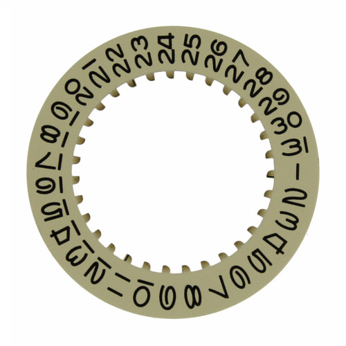 Date Dial Disc to Generic Rolex  3035 Champagne Color 2557-3035G - Main