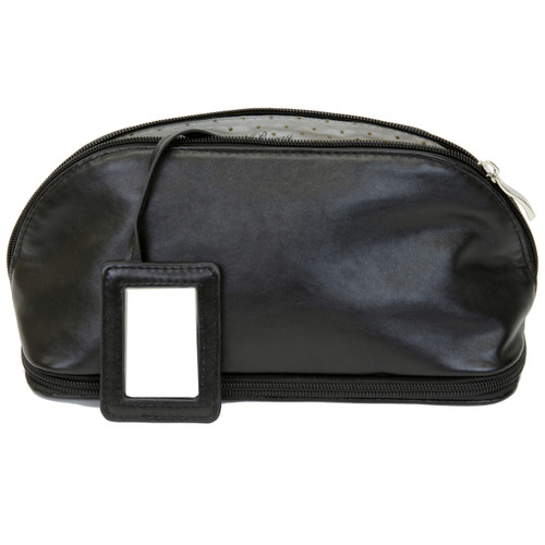 The Weekender - Travel Makeup Jewelry Case Black