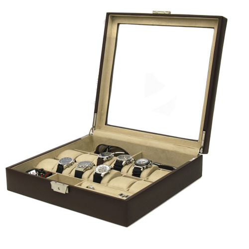 Watch and Jewelry Valet Case