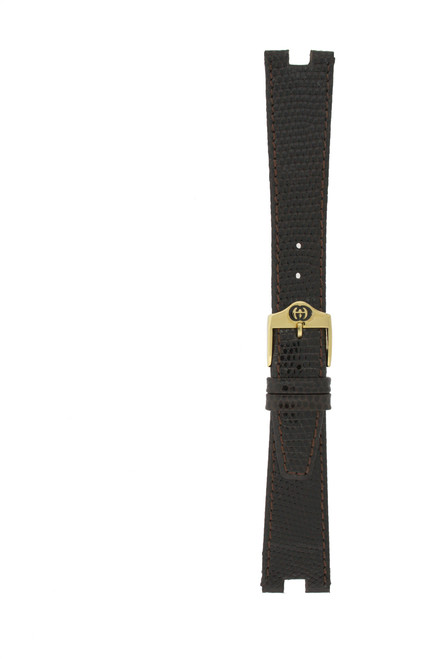 Gucci Watch Band 18mm Model 4500M Brown - Main