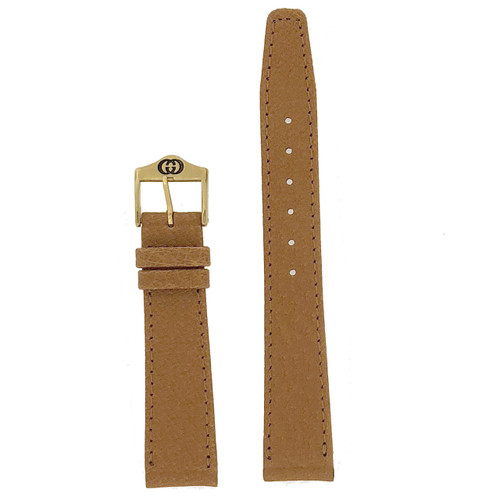 tan gucci 17mm watch band