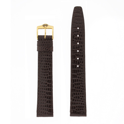 Gucci Lizard Brown 16mm watch band