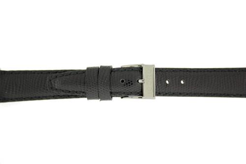 Gucci Watch Strap 14mm Black Genuine Lizard 6300L 2600L 5400L 5500L 7400L