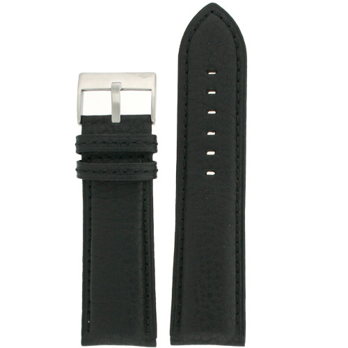 Black Watch Band Buffalo Grain - front view