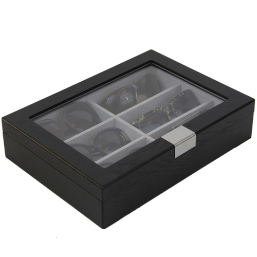 Sunglass Storage and Display Case by Tech Swiss - Side Closed View - Main