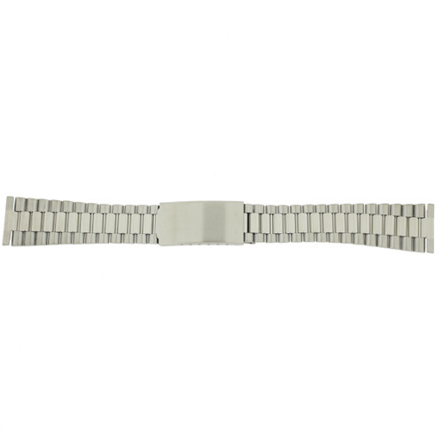 Oyster Style Link Metal Stainless Steel Watch Band - Main
