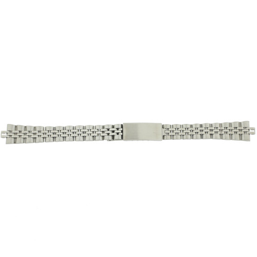 Ladies Watch Band Metal Link Stainless Steel 13 millimeter MET103 - Main