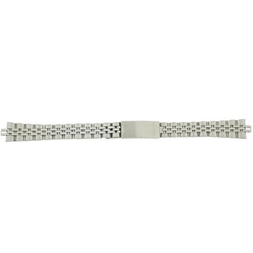 Ladies Watch Band Metal Link Stainless Steel 13 millimeter MET103 - Main