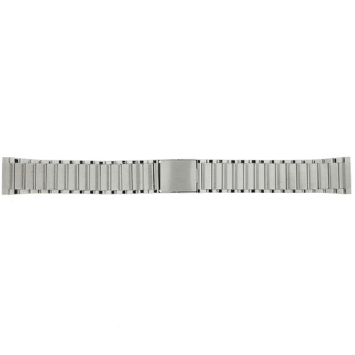 Watch Band Expansion Metal silver color with Genuine Stones - Main