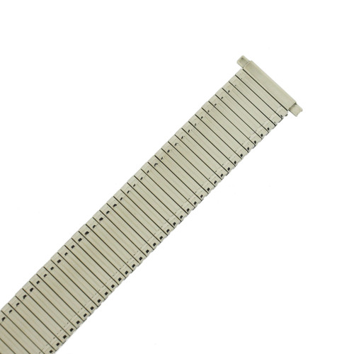 Watch Band Expansion Stretch Metal Silver Color Thin Line MET135 - Main