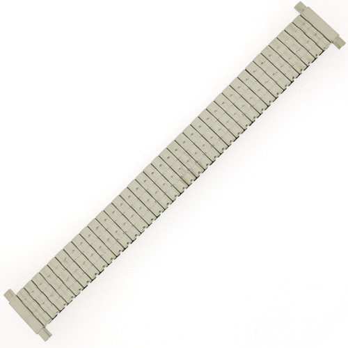 Watch Band Expansion Metal Stretch Silver-Tone - MET159 - full view - Main