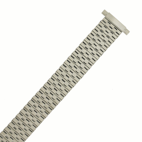 Watch Band Expansion Metal Stretch Silver-Tone - MET159