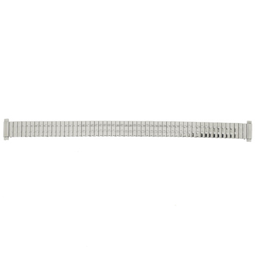 Watch Band Expansion Ladies Silver-Tone 10mm-12mm - Main