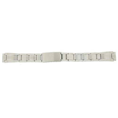 Ladies Watch Band Metal Link Stainless Steel 12 mm - Main